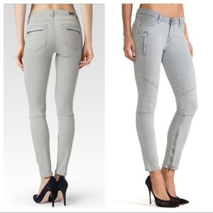 PAIGE, Marley, moto style, size 31, gray